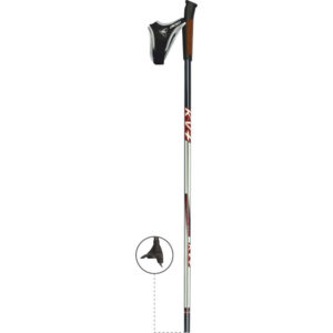 KV+ Tempesta Clip Pole, KV Plus Cross-Country Ski Poles in Canada and USA