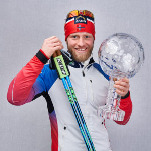 World Cup Winner Martin Johnsrud Sundby uses KV Tornado Clip Poles