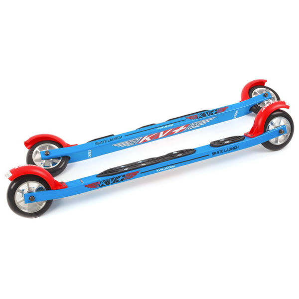 5RS02.NIS KV+ Launch Skate Rollerski 60 cm Curved with NIS plate, KV+ Rollerski in Canada and USA