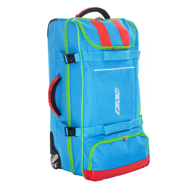 6D12.2 KV+ 110L Blue Trolley Bag 1