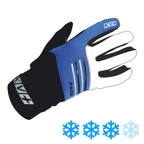 6G08.2 KV+ Race Gloves Royal-Black Outer Side