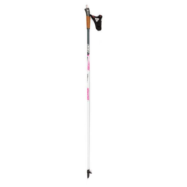 5W02CW KV+ Vento Clip White Pole. KV+ KV Plus Nordic Walking Poles in Canada and USA