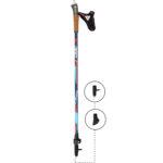 6W07C KV+ Alps 2 Clip Poles. KV+ KV Plus Nordic Walking Poles in Canada and USA