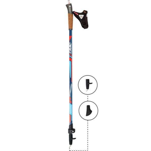 6W07C KV+ Alps 2 Clip Poles Full Length