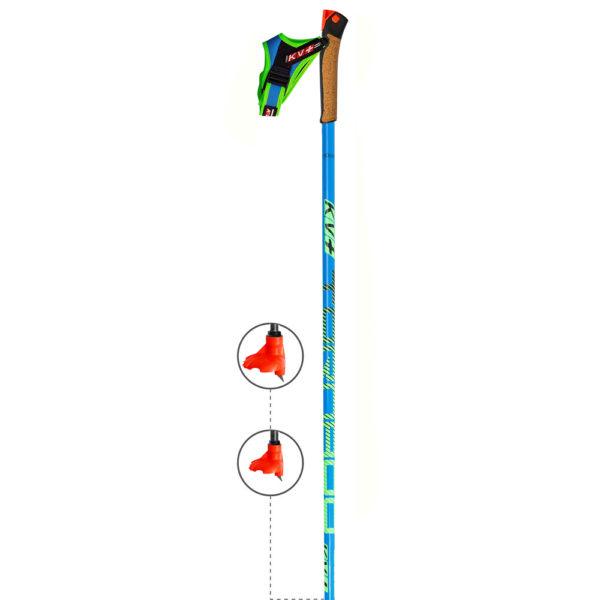 8P001Q KV+ Tornado Plus Carbon Pole
